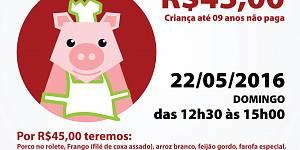 3º Porco no Rolete