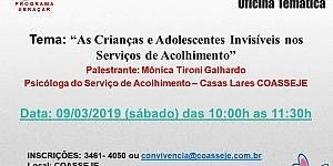 As Crianças e Adolescentes Invisíveis nos Serviços de Acolhimento
