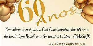 Comemoração de 60 anos da Socorristas Cristãs